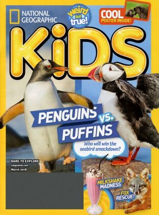 National Geographic Kids  2/2018