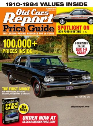 Old Cars Price Guide 2/2018