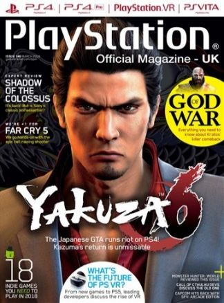 Playstation Official Magazine 2/2018