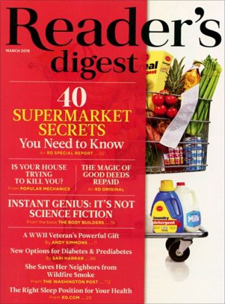 Reader's Digest US 1/2018