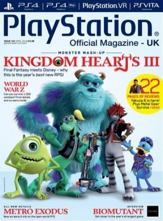 Playstation Official Magazine 3/2018