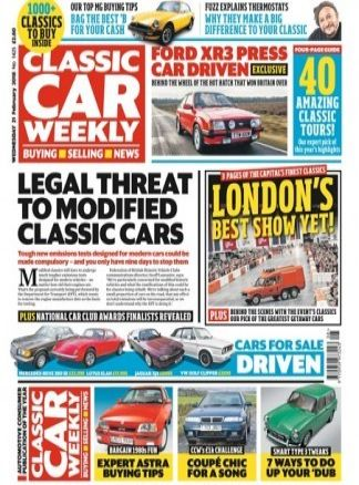 Classic Car Weekly 3/2018