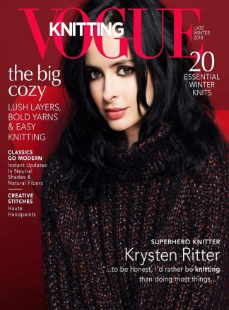 Vogue Knitting International 1/2018
