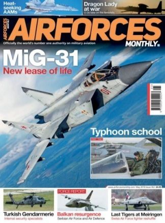 Airforces Monthly 3/2018