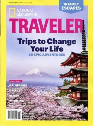 National Geographic Traveler 3/2018