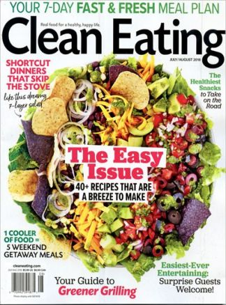 Clean Eating 5/2018