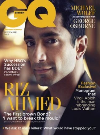Gentlemen's Quarterly (GQ) UK 4/2018