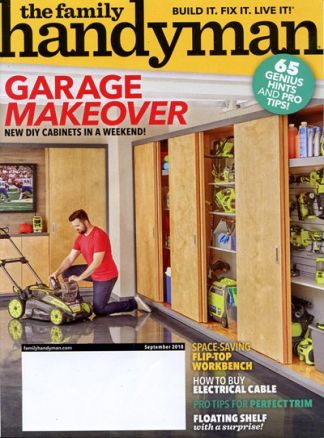 The Family Handyman 4/2018