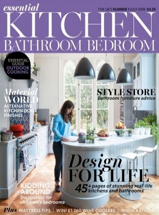 Essential Kitchen Bathroom Bedroom Magazine 4/2018