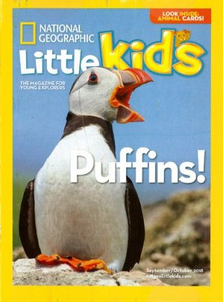 National Geographic Little Kids 3-6 1/2018