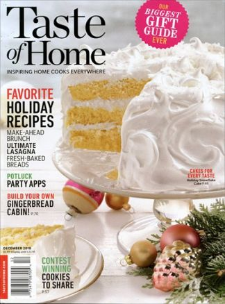 Taste of Home Magazine 2/2018
