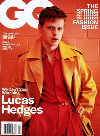 Gentlemen's Quarterly (GQ) USA 3/2019