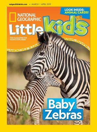 National Geographic Little Kids 3-6 3/2019