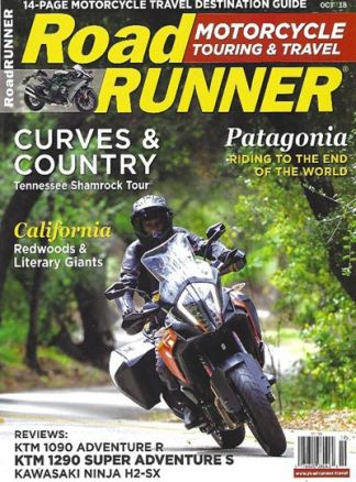 Roadrunner Motorcycle Cruising&Tour 3/2019
