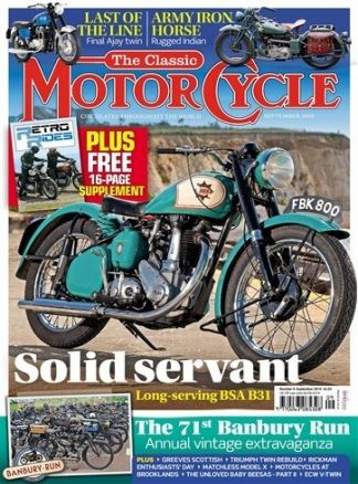 The Classic MotorCycle 3/2019