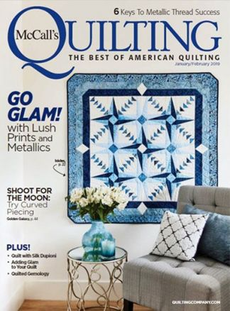 McCall's Quilting 1/2020