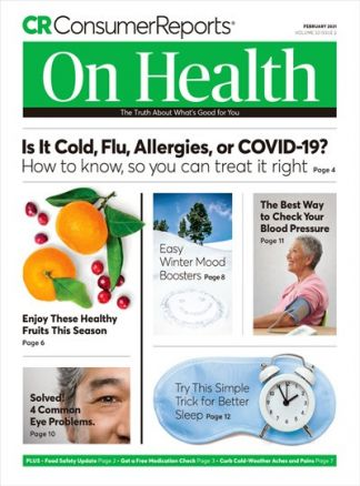 Consumer Reports On Health 1/2021