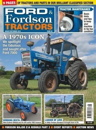 Ford and Fordson Tractors 1/2021