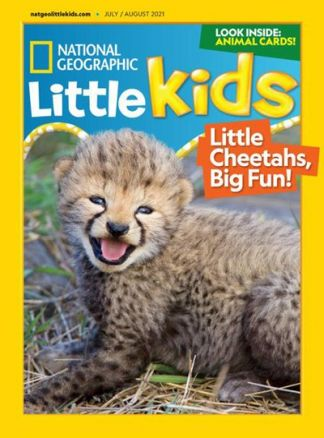 National Geographic Little Kids 3-6 1/2021
