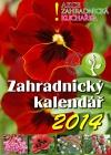 Zahradnický kalendář Vydání 2014