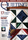 McCall's Quilting 1/2016