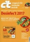 CT Magazin für Computertechnik  6/2017