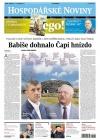 Hospodářské noviny Srpen 2017
