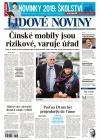 Lidové noviny Prosinec 2018