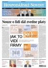 Hospodářské noviny Leden 2018