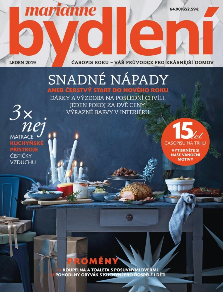 Marianne Bydlení předplatné - Časopisy - Magaziny.cz f395f6f578