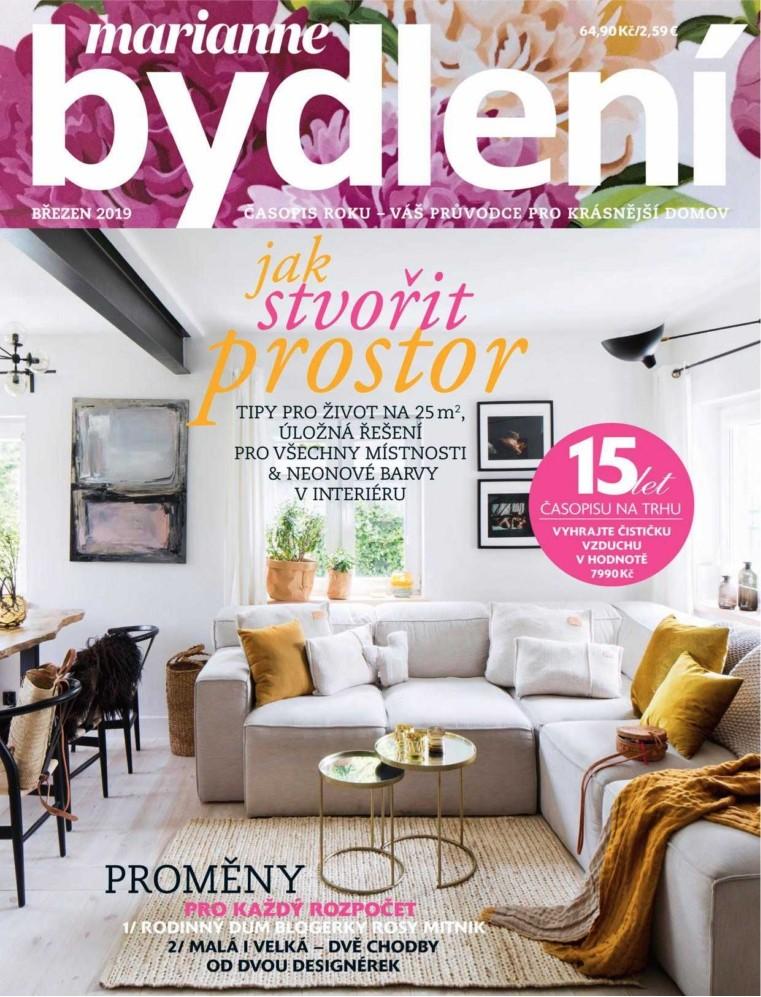 Časopis Marianne Bydlení předplatné. Marianne Bydlení 3 2019 ... 6c0fc8e1ae